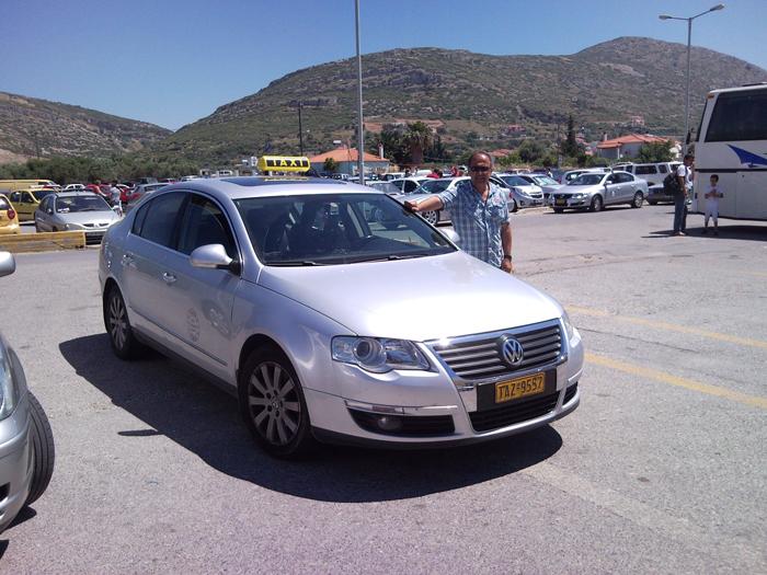 Samos'ta Ulaşım